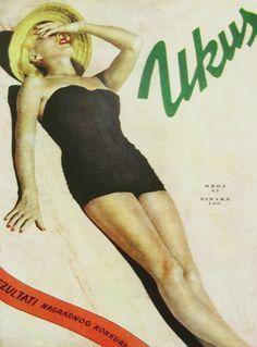 magazine cover art, Yugoslavia, c.1950s
