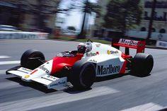 Alain Prost Mclaren Tag Honda