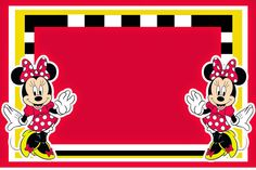 Lembrancinhas Personalizadas Da RCBX: Minnie Vermelha: Kit Digital Grátis Convites, latinhas , tubetes,rotulos