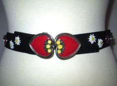* * * Creation Werner Trachten-Ledergürtel, 75 cm * * * | eBay Belt, Accessories, Fashion, Belts, Moda, Fashion Styles, Fashion Illustrations, Jewelry Accessories