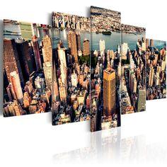 Quadri New York   QuadriperArredare.it New York Summer, Impression, Motifs, Boutique, Bubble Wrap, Two Couches, Picture Frame, Child Room, Originals