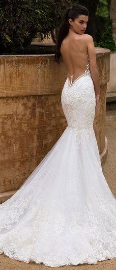 Milla Nova Bridal 2017 Wedding Dresses bloom / http://www.deerpearlflowers.com/milla-nova-2017-wedding-dresses/2/