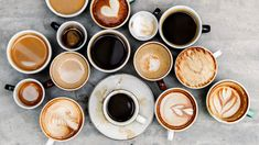 Science Says Drinking Coffee Helps People Slow Aging, Lose Weight, and Cheat Death. These Fascinating Studies Explain Why It's a Miracle Drink Why you should drink coffee. and maybe Bullet Proof version! Frappuccino, Frappe, Decaf Coffee, Coffee Cups, Latte, Cacao Cru, How To Order Coffee, Coffee Drinkers