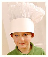 how to make chefs hats Cupcake Party - Birthday Party Ideas - Design Dazzle