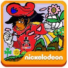 Nickelodeon Nickelodeon shows, Flower logo, Spongebob