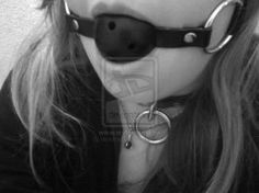 My Collar And Gag By Devulheart-d5k4u4k by bondagepics51