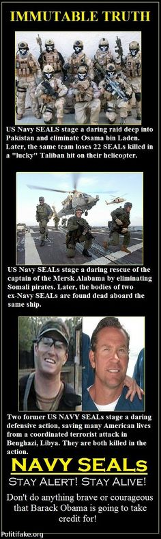 DANGEROUS TIMES FOR OUR NAVY SEALS