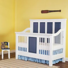 Newport Cottages Panel Conversion Crib from @Layla Grayce #laylagrayce #new #crib #toddler