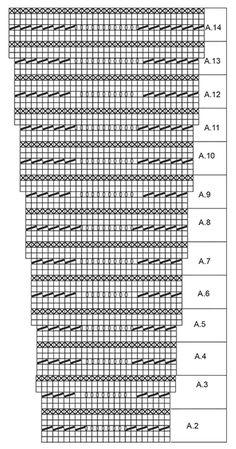 """Making Waves / DROPS 169-12 - Gebreide DROPS jurk met strepen en golvenpatroon, wordt van boven naar beneden gebreid van """"Belle"""". Maat: S - XXXL. - Free pattern by DROPS Design"""