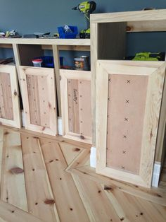 Chriskauffman.blogspot.ca: DIY Shaker Door Tutorial Very Good $12 A Door