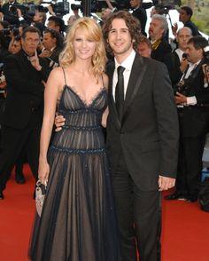 Festival de Cannes (20 et 21 mai 2005). Josh accompagnait sa compagne de l'époque, l'actrice January Jones, pour la présentation du film « Trois enterrements ».