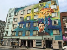 El hotel grafiteado por el Niño de las Pinturas en el Soho de Nueva York. Foto…
