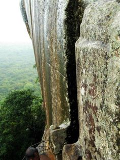 How they softened the stone. Sigiriya. Part 1. Softening of the stone. < ONWARD TO THE PAST < Publications < English < GeoLines.ru