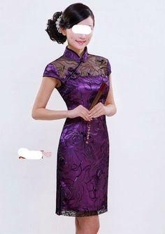 Chinese cheong-sam,wedding dress costume, dress,A0131