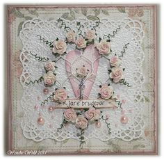 Wenches Cards and Paper: DT One Touch - Wedding Cards No. 2, June 2011