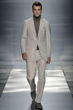 Ermenegildo Zegna Spring 2009 Menswear Collection Photos - Vogue Trajes  Para Hombre b3327991a6e3