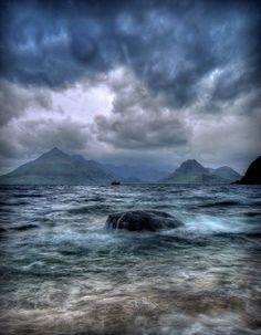 Loch Scavaig, Isle of Skye Scotland