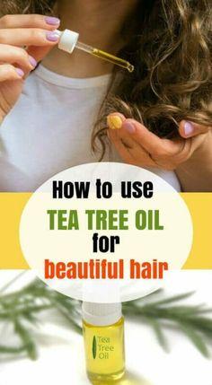 How-To-Uise-Tea-Tree-Oil-For-Hair tea tree oil for hair. Tea Tree Oil Hair, Tea Tree Oil Uses, Tea Tree Oil For Acne, Hair Oil, Skin Care Regimen, Skin Care Tips, Castor Oil For Acne, Oils For Dandruff, Beauty