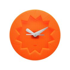Kartell - Crystal Palace Wanduhr, orange | Dekoration > Uhren > Wanduhren | Orange | Polymethylmethacrylat | Kartell