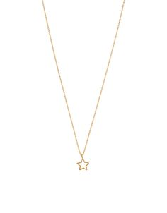 Teeny Star Pendant Necklace | Gold | Accessorize