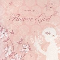 Enchanted Days Flower Girl Thank You Card | The Bridal Gift Box | Wedding & Bridal Gifts