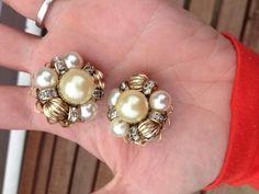 Vintage 1950s Hobe Earrings   eBay