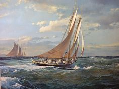 Maarten Platje / The Gloucester Schooner Cynthia was under the command of Captain Jeffrey Francis Thomas (1875-1935).