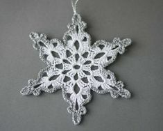 24 Crochet snowflakes SET of 24 Christmas by SevisMagicalStitches More