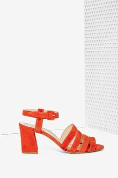 Maryam Nassir Zadeh Palma Suede Heel - Shoes | Heels | Open Toe