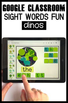 Need quick, fun and easy to use sight words games? Grab these Google Classroom activities for kindergarten to practice sight words. Engage kids with tech and reading at the same time! Kindergarten Sight Word Games, Teaching Kindergarten, Teaching Resources, Teaching Ideas, Word Family Activities, Classroom Activities, Cvce Words, Sight Words, Word Families