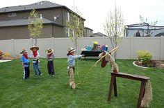 restlessrisa: Cowboy Party Games & Presents! Cowboy Birthday Party Games, Rodeo Party, Horse Birthday Parties, Horse Party, Cowgirl Birthday, Cowgirl Party, Cowboy Theme, Western Theme, Birthday Ideas