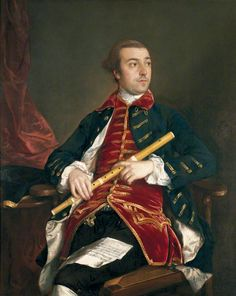 William Wollaston (1730–1797), ca. 1759 by Thomas GAINSBOROUGH ( 1727 - 1788 London)