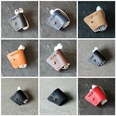 Hold styr på dine høretelefoner med en clips i læder 🎈✌🏻