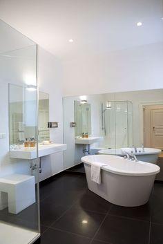 bathroom Philippe Starck Robert's place - Hotel Altstadt Vienna Design Hotel, Vienna Hotel, Boutique, Corner Bathtub, Relax, Philippe Starck, Bathroom, Destinations, Freestanding Bath