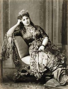 Abdullah Freres - Turkish Woman, ca 1880 | Flickr - Photo Sharing!