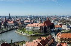 Wroclaw top things to do - Cathedral Island - Copyright Maciek Lulko Wroclaw European Best Destinations Most Beautiful Cities, Amazing Destinations, Old Town, Cathedral, Explore, Mansions, Landscape, City, Europe Tourism