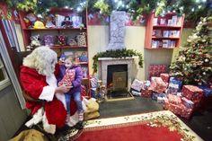Santa's Cottage & Winter Wonderland. Drusillas from 29 November. www.drusillas.co.uk/