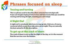 Doufáme, že Vy jste se dnes vyspali dobře! Přejeme Vám krásný víkend. #sleep #phrases #English #Anglictina #AnglictinaBezBiflovani Cant Sleep, When Someone, Meant To Be, English, English Language, England