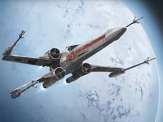 A Renegade Squadron X-Wing by Nicholas Stohlman