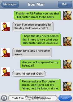 Iron Man and Thor
