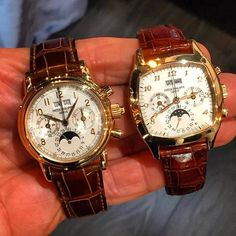 "d109d6fd0a6 World of Watches 🇩🇪 on Instagram  ""Two beautiful Pateks. Ref"