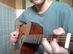 """Acoustic Blues Guitar Lesson Pt 1 """"Come Back Baby"""""""