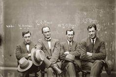 Hampton Hirscham, Cornellius Joseph Keevil, William Thomas O'Brien and James O'Brien.