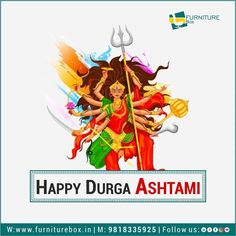 May Maa Durga illuminate your life with the countless blessing of happiness! Furniture Box, Happy Navratri, Durga Maa, Your Life, Blessing, Happiness, Instagram, Art, Art Background