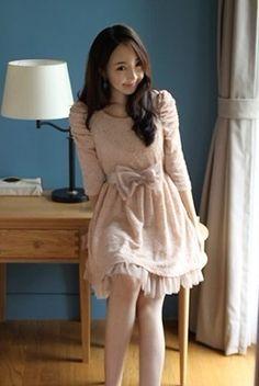 Bowknot Princess Dress Pink