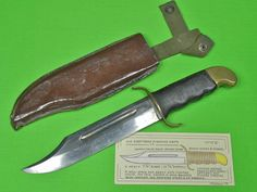 German Made Hunting Knife Found It At A Gun Show