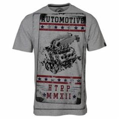 eed1564b82 Vintage Grey Motor Engine tee from Huetrap. #graphictees, #mensfashion,  #onlineshopping