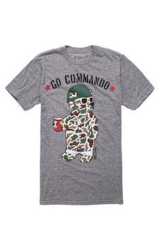 Go Commando 2 Tee