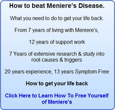 Support for Meniere's sufferers. How to live symptom free and find the cause of your symptoms. Plus indepth information on Meniere's Disease Meneires Disease, Disease Symptoms, Autoimmune Disease, Thyroid Problems, Health Problems, Menieres Disease Diet, Home Remedies For Vertigo, Ear Pressure