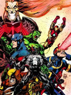Marvel Venom, Cyclops, Marvel Avengers, Marvel Comics, Men Art, Xmen, Goku, Spiderman, Spider Man